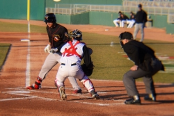 catcher in motion