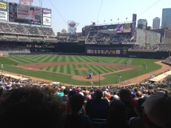 Target Field in August